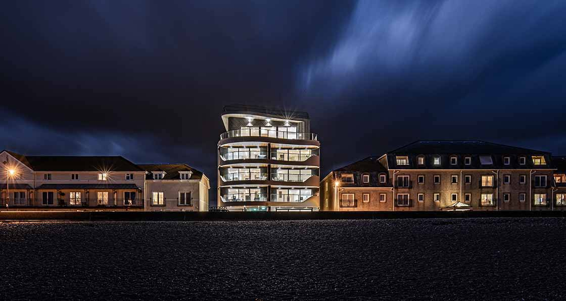 Sea change — luxury passive scheme on the Devon coast