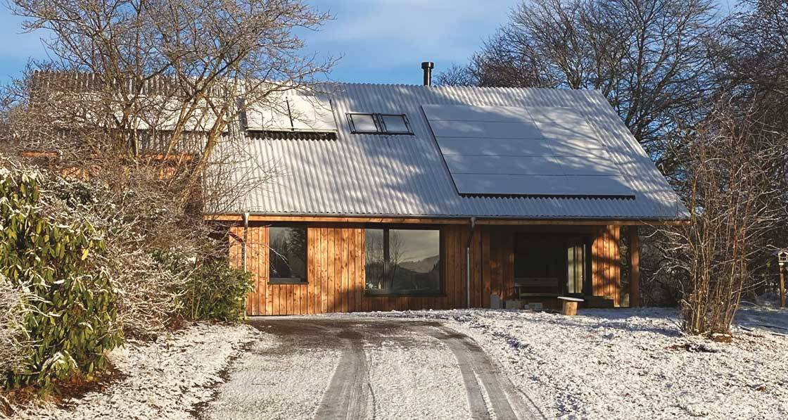Highland Warrior - Scottish passive house built with innovative local timber system